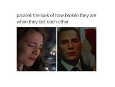 Captain America Steve Rogers and Peggy Carter Peggy Carter, Capitan America Chris Evans, Chris Evans Captain America, Dc Movies, Marvel Movies, Johnlock, Destiel, Hulk, And Peggy