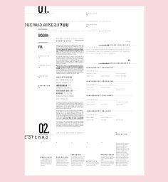 Programa de páginas realizado para la materia tipografía II de la cátedra Longinotti, FADU - UBA 2016