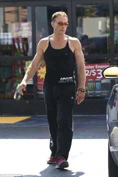 Someone call Time Cop! Jean-Claude Van Damme stepped out on Saturday looking in more or less the same condition he did 26 years ago