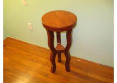 Curved legs hand made bar Stool furniture
