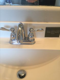 Delta Double Handle Chrome Bathroom Fixtures