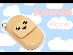 ◕‿‿◕ Cute Plaster! Tutorial in Polymer Clay