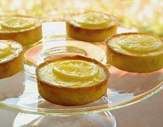 Lemon tarts By Chef Shireen Anwer   Creative Recipes