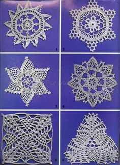 Ivelise Hand Made: Squares, Triangles and Ideas In Crochet ...