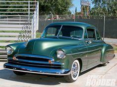 1950 Chevy Styleline Coupe Custom Grandpa's Car
