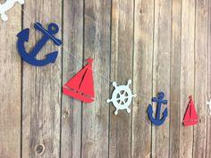 Baby shower boy nautical theme dessert tables ideas for 2019 Calin Gif, Baby Shower Marinero, Ideas Decoracion Cumpleaños, Nautical Party, Boy Baptism, Boy Birthday Parties, Birthday Crafts, Happy Birthday, Baby Shower Themes