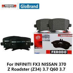 4pcs/lot Ferodo Front Car Brake Pads For INFINITI FX3 NISSAN 370 Z Roadster (Z34) 3.7 Q60 3.7 FDB4284 #Affiliate