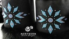 simple bead pattern in teal, blue and silver - available in any colors Native Beading Patterns, Beadwork Designs, Native Beadwork, Seed Bead Patterns, Bead Embroidery Tutorial, Bead Embroidery Patterns, Beaded Embroidery, Bracelet Crafts, Beaded Bracelets