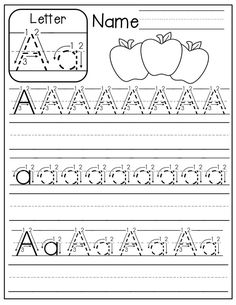 FREE A-Z handwriting worksheets! Just print, place in sleeve protectors and use with a dry erase marker! Alphabet Worksheets, Preschool Worksheets, Preschool Learning, Alphabet Activities, Preschool Activities, Handwriting Worksheets For Kindergarten, Free Alphabet Printables, Handwriting Activities, Alphabet Crafts