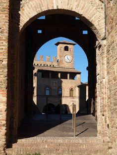 Castell Arquato Piacenza, Province of piacenza , Emilia Romagna region Italy