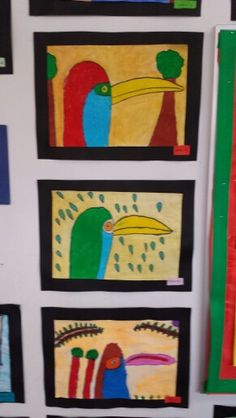 Toucans by grade two. Owls, My Love, Friends, Frame, Home Decor, Art, My Boo, Craft Art, Amigos