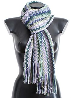be9878c5065ab 10 Best Missoni Women Scarves images in 2018 | Fringe scarf, Missoni ...