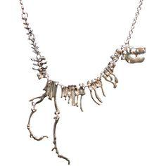 Dinosaur Fossil Necklace