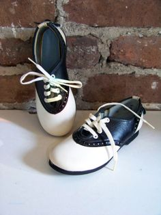 Classic iconic kids' saddle shoes New Old by JoachimStreetVintage, $30.00
