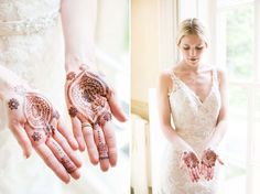 Styled Inspiration: A Marriage of Two Cultures. Planner: Spirit and Style Events Photo: Caynay Photo Hair & Makeup: Texture Salon & Spa Henna: Henna Blossom