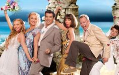 The cast of Mama Mia - I could genuinely watch this film over and over again- cheesy fun!