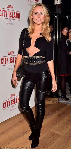 Kimberley Garner.. Fetish Fashion, Latex Fashion, Shiny Leggings, Leggings Are Not Pants, Millie Mackintosh, Kimberley Garner, Latex Girls, Leather Trousers, Celebs