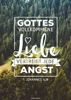 Gottes vollkommene Liebe vertreibt die Angst