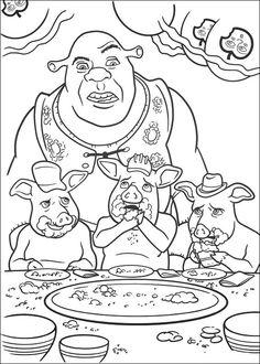 Shrek Ausmalbilder 105