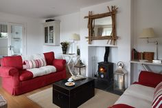 K And D Hairdressers St Ives Sitting Room Waters Reach Lerryn, luxury waterfront self-catering ...