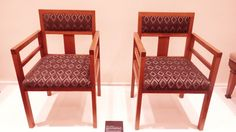 Н. Лансере. Парные кресла. 1930-е. Выполнены для ленинградского музея Ленина, размещавшегося в Мраморном дворце.
