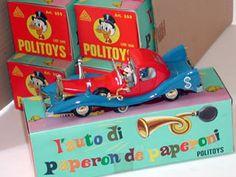 POLITOYS-M (#559) AUTO DI PAPERONE