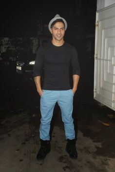 Varun Dhawan at Finding Fanny Special Screening.
