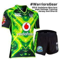 2014 Vodafone Warriors High Voltage Training Jersey #WarriorsGear