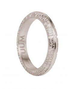 Anello #Tumm Fede Trialux Oro Bianco 18 KT e Diamanti FESTL0700B #ororagioiellerie