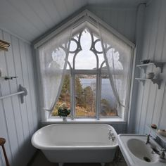 .Lovely Bathroom with a View