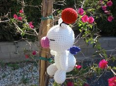 Moogle Crochet Amigurumi Plushie by amiamour on Etsy, $40.00