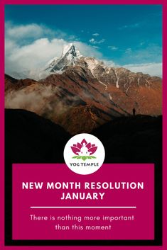 Reprogram your thoughts: New Month Resolution - January - Yog Temple New Month, Yoga Teacher Training, Resolutions, Ayurveda, January, Shamanism, In This Moment, Thoughts, Ideas