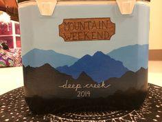 Winter Mountain Weekend Frat Fraternity Formal Deep Creek