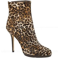 Jimmy Choo Printed Pony Ankle Boots