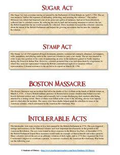 American Revolution Poster Project | Social Studies | Pinterest ...