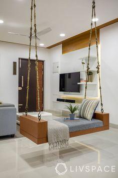 Living Room Partition Design, Living Room Tv Unit Designs, Room Partition Designs, Ceiling Design Living Room, Home Room Design, Home Interior Design, Living Room Decor, Ceiling Decor, Bedroom Tv Unit Design