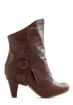 I can so see replacing those buttons with little gears for some awesome steampunk style boots.