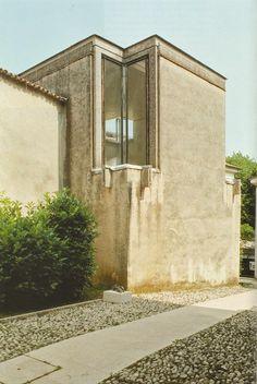 Carlo Scarpa (1906-1978) | Gipsoteca Canoviana | Possagno, Treviso, Italia | 1955 (progetto) 1957