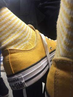 Imagem de yellow, converse, and aesthetic