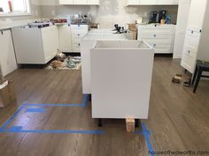 Everything you want to know about building a custom IKEA kitchen island - House of Hepworths Ikea Kitchen Remodel, Kitchen Reno, Kitchen Islands, Kitchen Ideas, Ikea Kitchen Series, Ikea Cabinets, Cupboards, Ikea Island, Home Remodeling