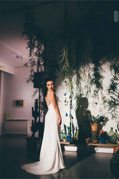Le défilé de Caroline Quesnel - Collection 2016 de robes de mariée | Photographe : Nosilaprod by Alison Bounce | Donne-moi ta main - Blog mariage