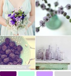 The Perfect Palette: 10 Wedding Color Palettes That Aren't Boring!