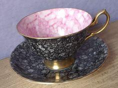 UNIQUE Vintage English tea cup and saucer Royal by ShoponSherman