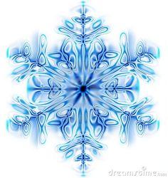 Art Snowflake winter