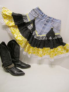ba0fee12a552 7 Best Barn dance outfit images   Dress with boots, Casual outfits ...