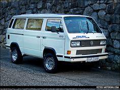 White VW T3 Syncro