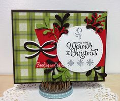 Welcome back and I am here to share my cards with you. I played some fun challenges in July and won some craftiness from Stampin'. Fun Challenges, Some Fun, I Card, Crafty, Creative, Frame, Christmas, Design, Art