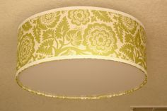 How to recover pendant shade