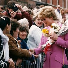 A long time ago my grandma shook Princess Diana's hand - Amy Metzendorf