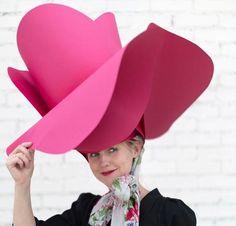 Paper Rose Hat